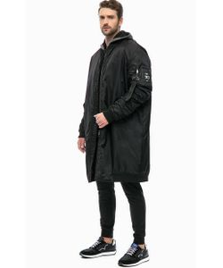 EA7 | Удлиненная Куртка С Вышивкой На Спине