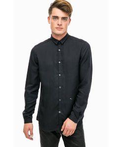 Diesel | Черная Рубашка С Металлическим Декором