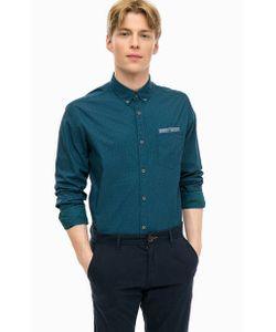 TOM TAILOR | Хлопковая Приталенная Рубашка
