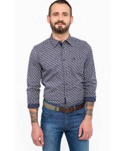 Wrangler | Хлопковая Приталенная Рубашка