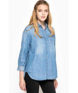 Pepe Jeans | Синяя Джинсовая Рубашка С Длинными Рукавами