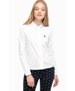 Tommy Hilfiger   Хлопковая Рубашка С Длинными Рукавами