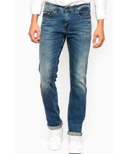 Calvin Klein Jeans | Слегка Зауженные Джинсы С Заломами