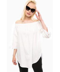Vero Moda   Хлопковая Блуза С Лентами На Рукавах