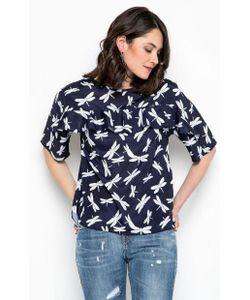 Liu •Jo Jeans | Блуза С Узкими Рюшами На Груди