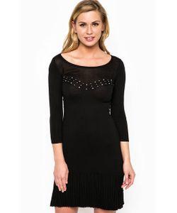 Guess | Черное Платье Из Вискозы