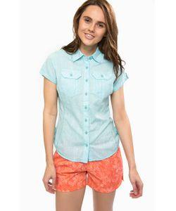 Columbia | Приталенная Рубашка С Короткими Рукавами
