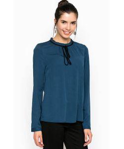 Tom Tailor Denim | Блуза Из Вискозы Синего Цвета