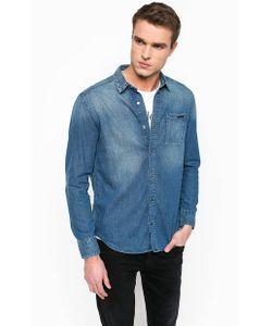 Calvin Klein Jeans | Джинсовая Рубашка На Кнопках