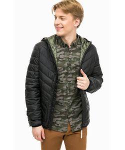 Tom Tailor Denim   Черная Куртка С Капюшоном