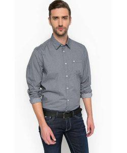 LERROS | Приталенная Хлопковая Рубашка С Карманом