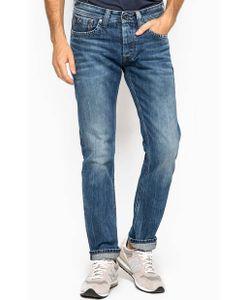 Pepe Jeans | Прямые Джинсы С Декоративными Заломами