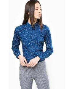 Tommy Hilfiger | Синяя Приталенная Рубашка