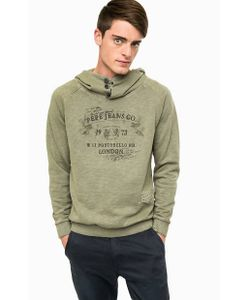 Pepe Jeans | Хлопковая Толстовка Цвета С Капюшоном