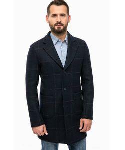 Trussardi Jeans | Шерстяное Пальто В Клетку