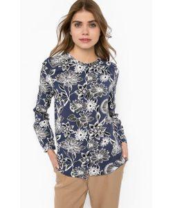 ICHI | Блуза Из Вискозы С Цветочным Принтом