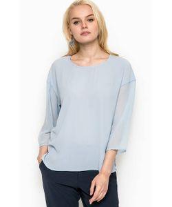 ICHI | Блуза С Полупрозрачными Рукавами