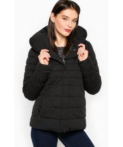 Luhta | Черная Куртка На Молнии И Кнопках