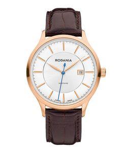 Rodania | Часы С Широким Кожаным Ремешком