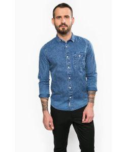 Calvin Klein Jeans | Приталенная Рубашка С Нагрудным Карманом