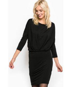 ICHI | Черное Платье Средней Длины