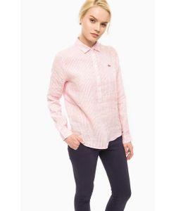 Lacoste | Льняная Рубашка В Полоску