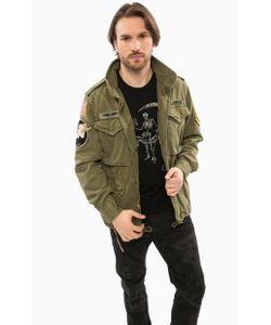 Denim & Supply Ralph Lauren | Хлопковая Куртка Цвета С Нашивками