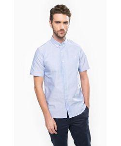 Fred Perry | Голубая Рубашка С Короткими Рукавами