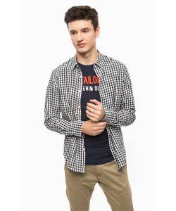 Tom Tailor Denim | Приталенная Рубашка В Клетку