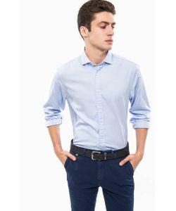 Tommy Hilfiger | Голубая Рубашка Из Хлопка