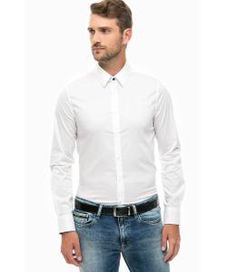 Guess | Классическая Приталенная Рубашка Из Хлопка