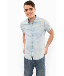 Calvin Klein Jeans | Джинсовая Рубашка С Короткими Рукавами