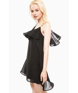 Vero Moda   Черное Платье На Бретелях