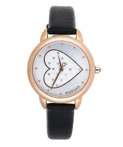 Morgan | Часы Из Нержавеющей Стали С Отделкой Кристаллами