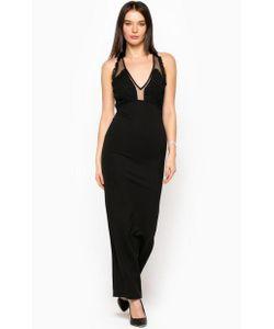 Silvian Heach | Длинное Черное Платье