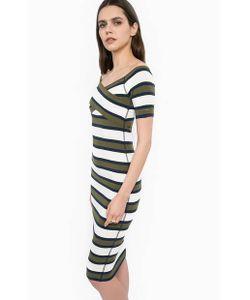 Liu •Jo Jeans | Эластичное Платье Из Вискозы В Полоску