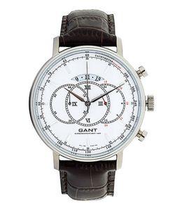 Gant | Часы Круглой Формы С Кожаным Ремешком