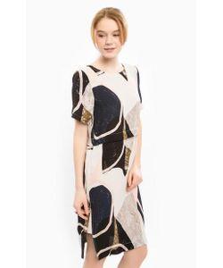 ICHI | Платье Свободного Кроя С Застежкой На Спине