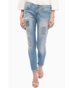 Liu •Jo Jeans | Зауженные Джинсы С Металлическим Декором