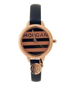 Morgan | Часы С Синим Ремешком Из Натуральной Кожи