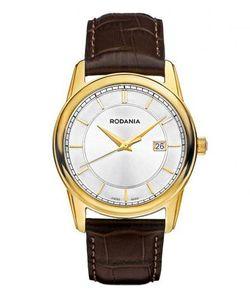 Rodania | Часы Круглой Формы С Кожаным Ремешком