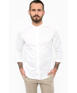 Gaudi | Приталенная Рубашка Белого Цвета
