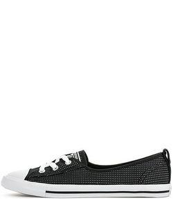 Converse | Черные Текстильные Кеды