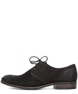 Vagabond | Черные Туфли Из Нубука