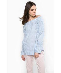 Pinko | Блуза Из Хлопка В Полоску