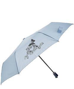 Doppler | Складной Зонт С Куполом Синего Цвета