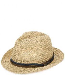 R.Mountain   Плетеная Шляпа Бежевого Цвета