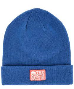 The North Face | Синяя Шапка С Логотипом Бренда