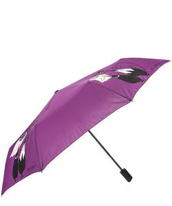 Flioraj | Автоматический Зонт С Куполом Фиолетового Цвета