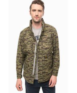 Carhartt WIP | Куртка Из Хлопка С Камуфляжным Принтом